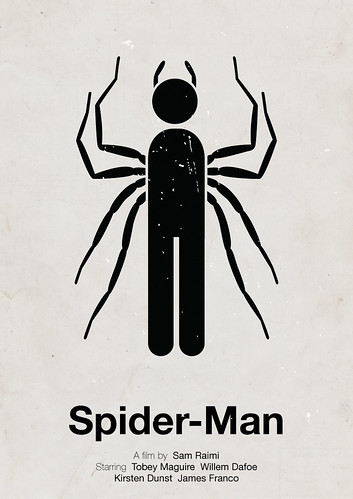 'Spider-Man' pictogram movie poster