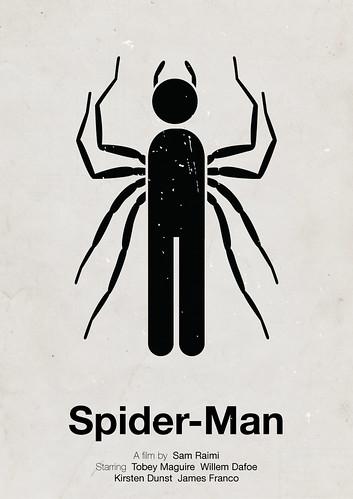 'Spider-Man' pictogram movie poster