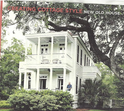 cottage living narrow house Charleston