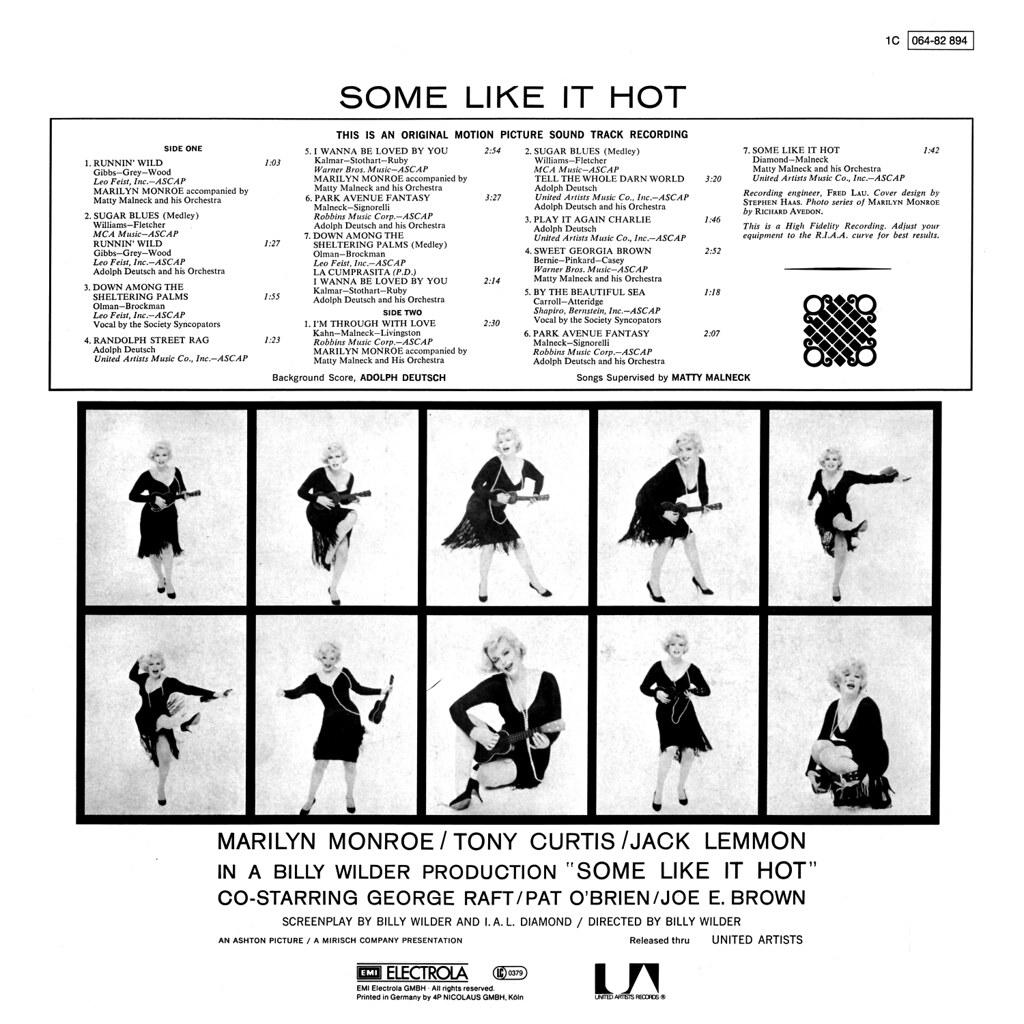 Adolph Deutsch - Some Like It Hot