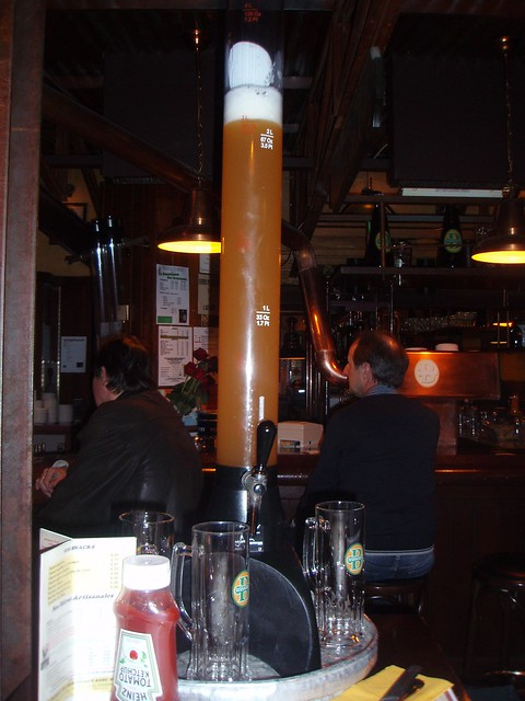 Tres litros de cerveza de Les Brasseurs