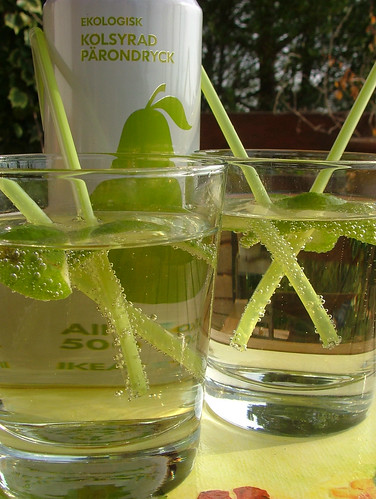 pears, vodka and lime