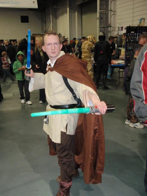 Well-armed Jedi