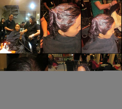 Kolours Luster haircolor treatment by Headzone