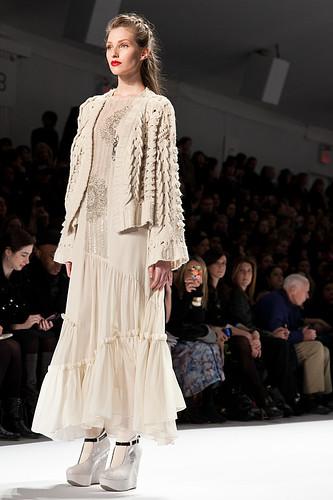 New York Fashion Week Fall 2011 - Nanette Lapore 2