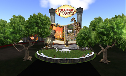 Inworldz: Gulliver's Travels by Ub Yifu - the auditorium