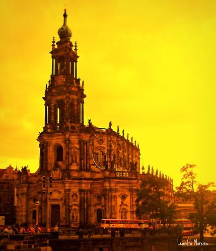 Hofkirche: a Catedral de Dresden