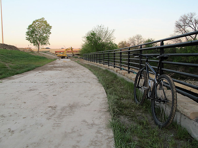 East Side Trail - North of Renner Road, East of Central