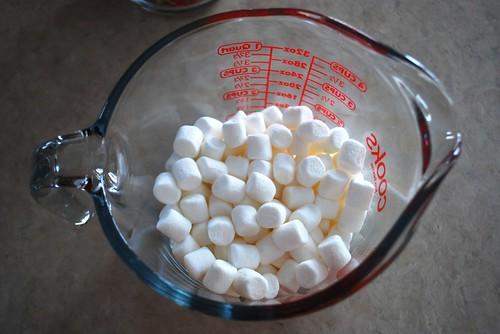 cloud-like marshmallows