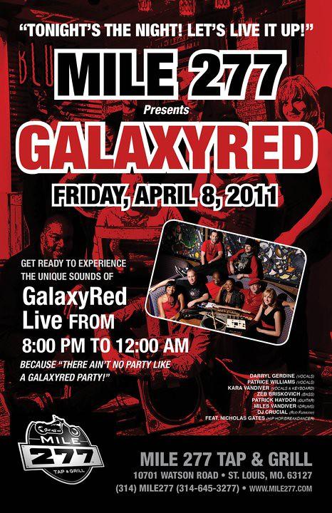 Galaxy Red 4-8-11
