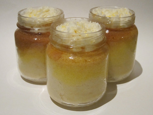 Mini Lemon Cake in a Jar