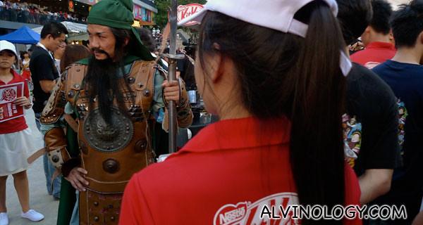 Guan Yu from Three Kingdoms