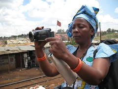 Gender justice advocates learn to use video advocacy at a WITNESS training in Nairobi