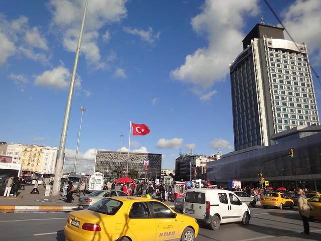 Praça Taksim em Istambul Turquia