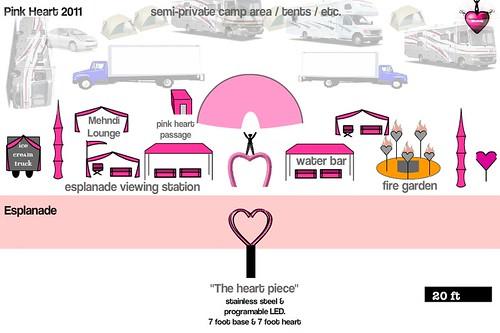 Pink Heart Plan (april)