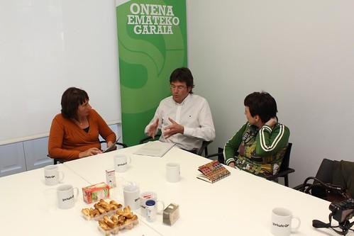 Idoia Llano, Gorka Urtaran y Noemí Pastor by agirregabiria