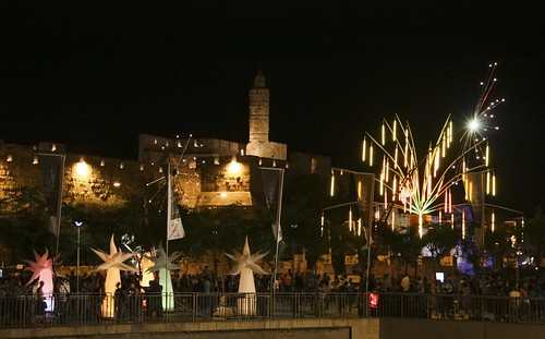 Jaffa Gate, Jerusalem Festival of Light 2011