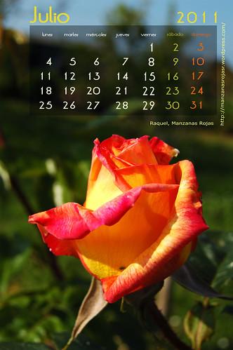 Calendario julio 2011