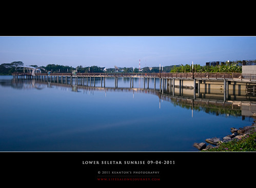 Lower Seletar Reservoir Sunrise 09-04-2011 #10