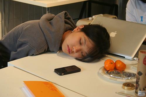 sleeping sara