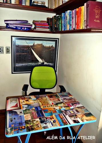 Faça você mesmo : Decoupage com Folhas de Revista