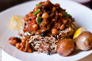 Rice, Chili, Potatoes