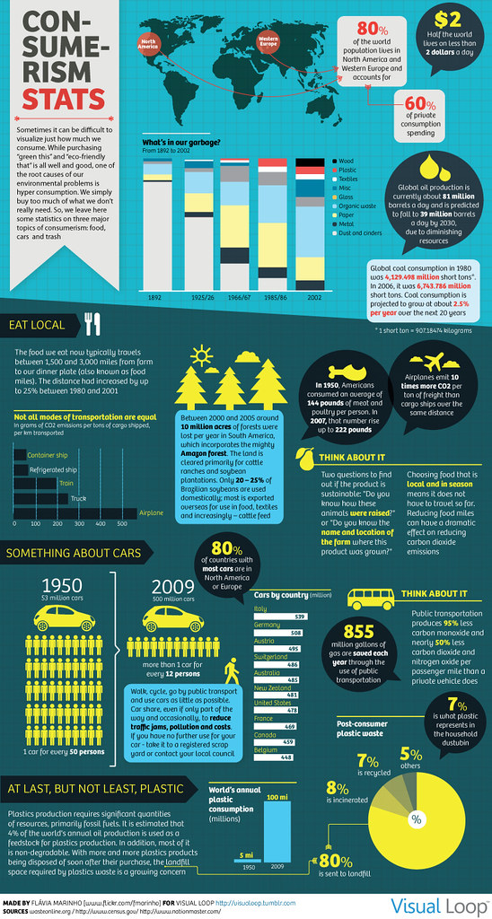 Consumerism Stats