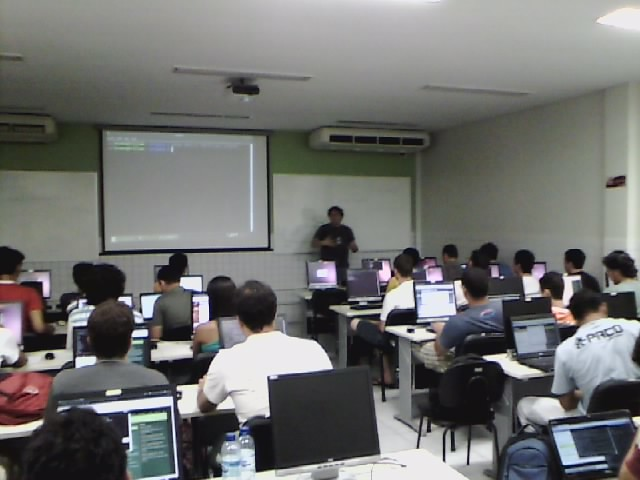 Curso de Django no Workshop do Centro de Informática