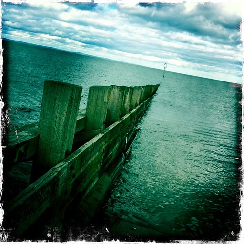 Porty Beach Breakwater Hipstamatic