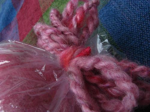 Gorgeous Batt in Red/Pink