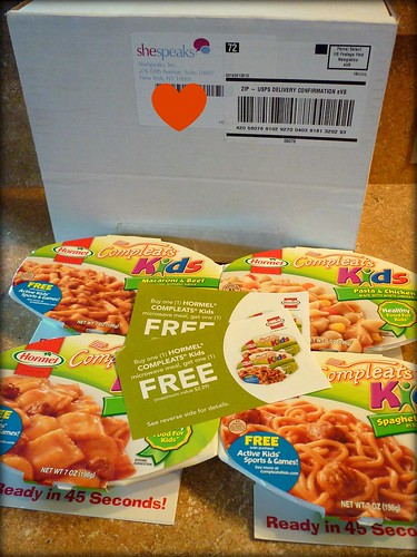 Hormel Compleat meals