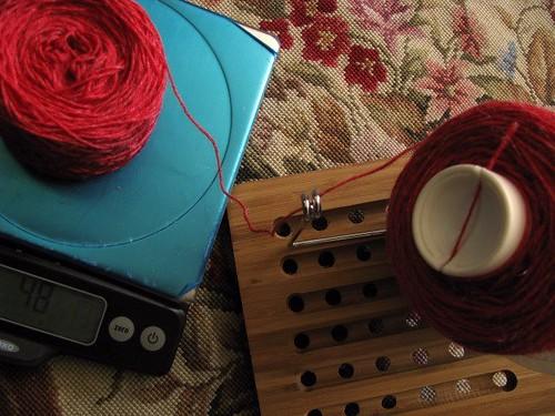 Violins Test Knit