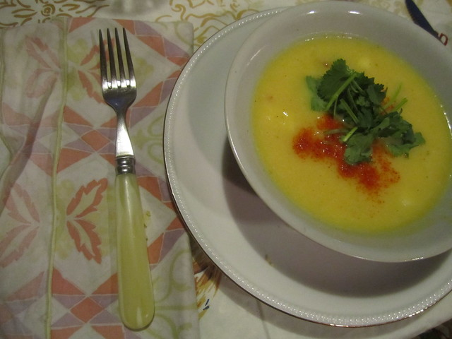Bowl of Local Pumpkin Soup