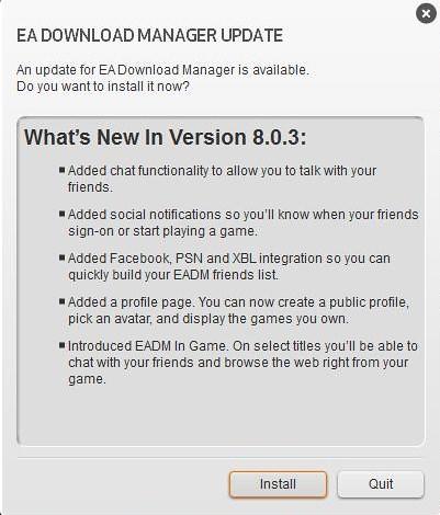 EADM Update 8.0.3