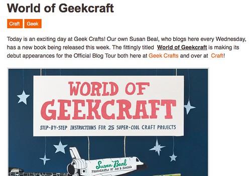 WOGC on Geek Crafts