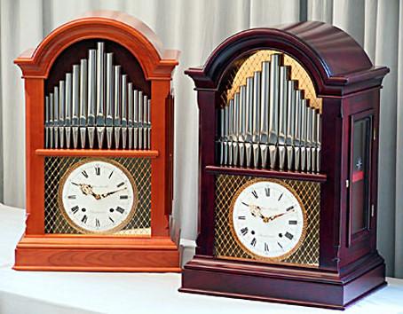 Tischflötenuhr mit 17 Tonstufen NFT17_00
