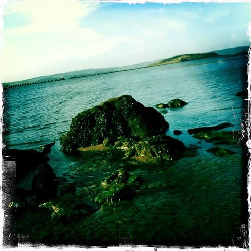 Cramond Beach Hipstamatic