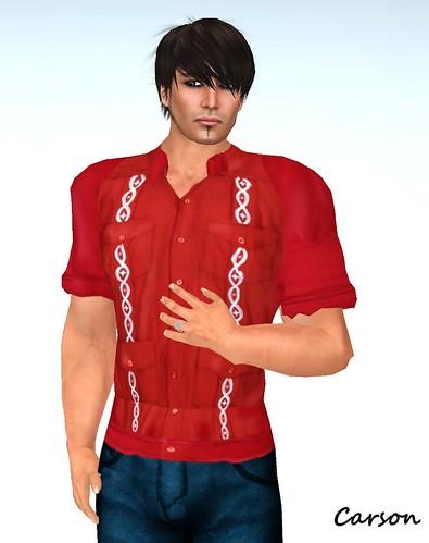 Hell Bop Red Juan Shirt