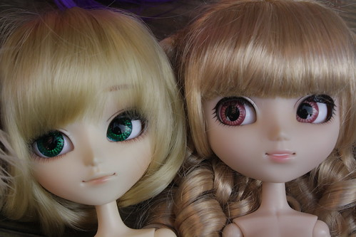 Isul vs Pullip Faceplates