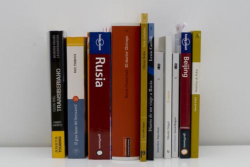 Biblioteca personal Transiberiano
