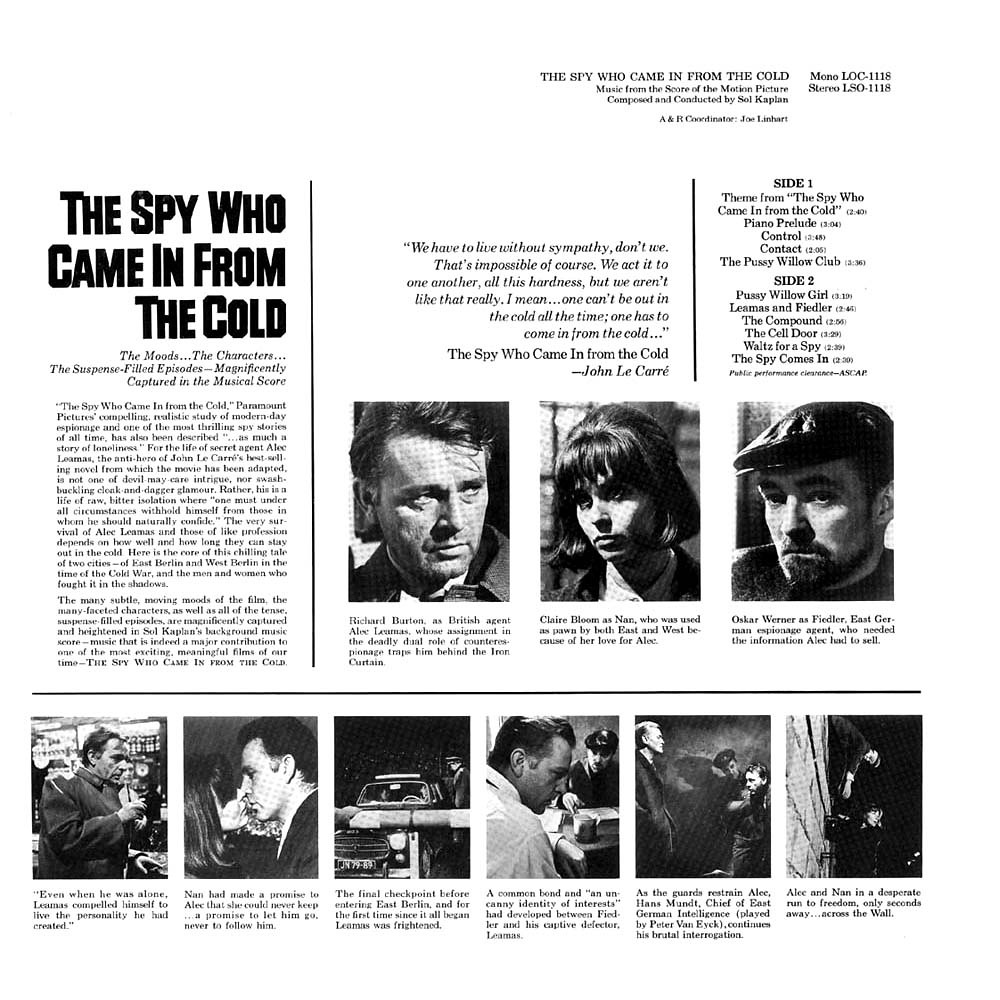 Sol Kaplan - The Spy Who Came in from the Cold