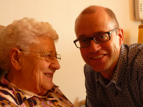 Me and my beloved grandmother