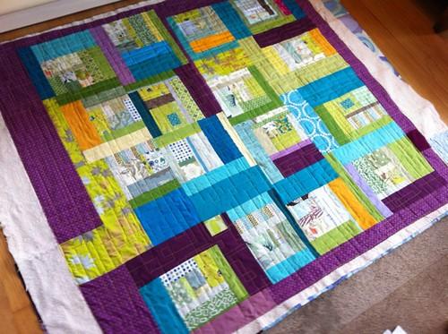 beautiful quilt by Rachel + Cherri + Kaci
