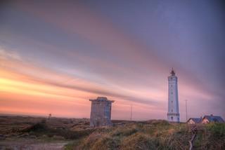 Blavand Lighthouse Evening