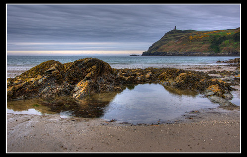 View over to Bradda Head from Port Erin Beach by jonny.andrews65