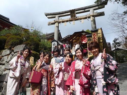 Kimono in Kyoto