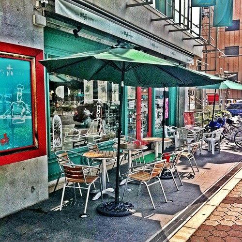 休日のブランチは、よくここで食べます。#afternoon