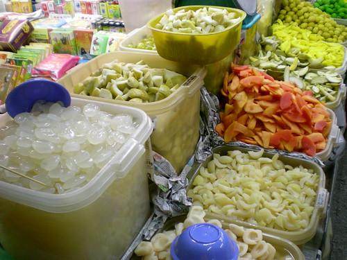 Chowrasta Market - pickles
