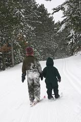 Ski with me!