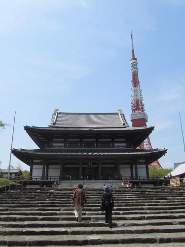 Zojyoji & Tokyo Tower